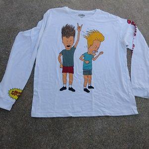 Beavus and Butthead Long sleeve T-shirt